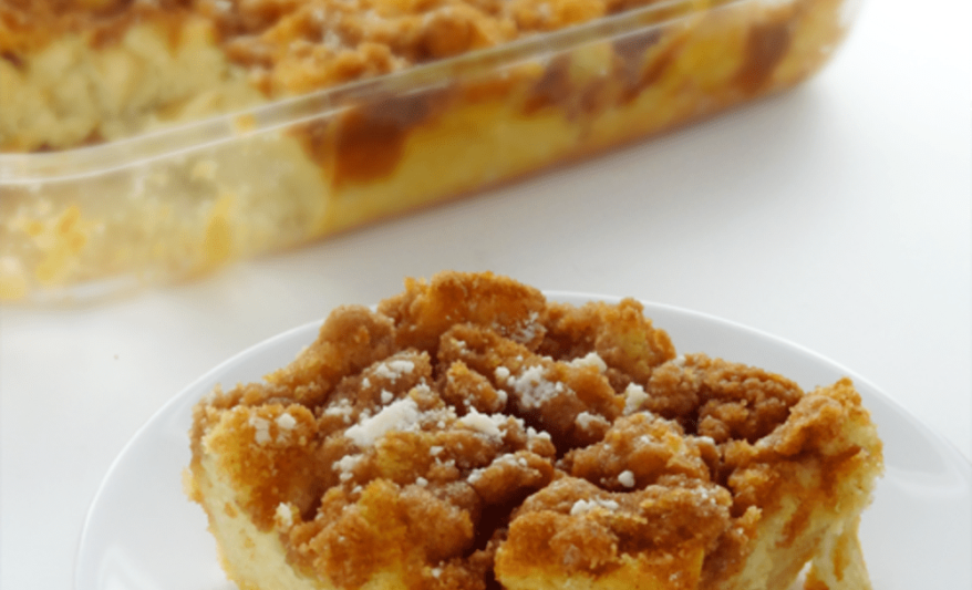 BAKED FRENCH TOAST RECIPE – OR GETTING TOGETHER WITH FAMILY, Olde Square Inn