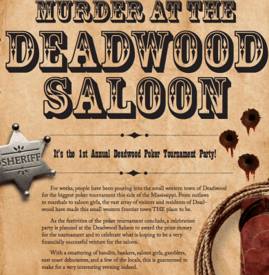 Murder Mystery Weekend, Olde Square Inn